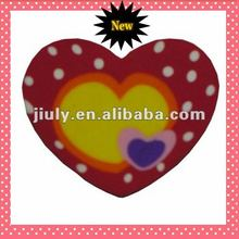 2014 COLORFUL LOVELY HEART ERASER FOR VALENTINE GIFT