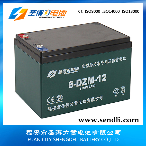 CE certificate 12v12ah vrla battery for electric bike