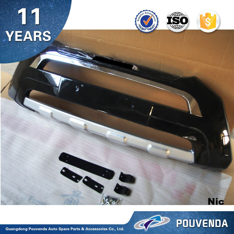 ABS Black Front Bumper For Hyundai Santa fe 2012 ix45 Front bumper guard plate ( Original Type) Auto accessories from Pouvenda