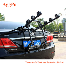 Car trunk bike rack Deluxe Trunk Mount 3-Bike Carrier,Auto Hitch Mount Bicycle Bike Rack Car SUV Truck Carrier 02