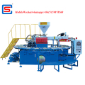 PVC TPR AIR BLOWING injection moulding machine for Crystal shoes slipper soles