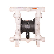 electric operated double diaphragm pump in various materials