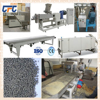 Fast eat rice production line