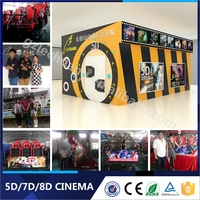 Trailer 5D 6D 7D cinema With Cabin And Wheels Simulator Cinema 3D 4D 5D 6D 7D XD Cinema Seats For Children
