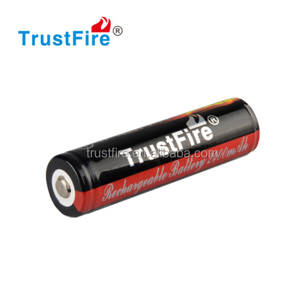 Trustfire original High Quality Battery 3.7v 2400mAh li-ion 18650 lithium battery cell for flashlight or e-cigarette