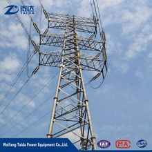 500kv transmission substation steel pole electric power tower supplier