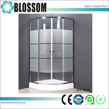 Blossom New free standing large rv outdoor shower and bath enclosures