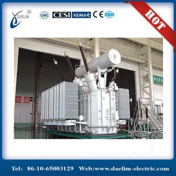 80mva 230kv Oil Immersed Three Phase Power Transformer with MR