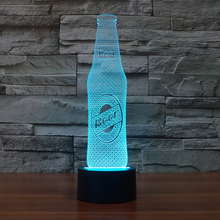 FS-3008 3d projector led auto lamp chinese lighting with beer shape for nice decoration