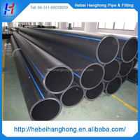 Trade Assurance Manufacturer 5.8m hdpe pipe standard length, hdpe drainage pipe