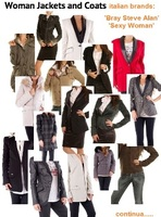 Woman Coats&Jackets, mixed, fall/wint., Italian Brands: 'Bray Steve Alan' 'Sexy Woman'