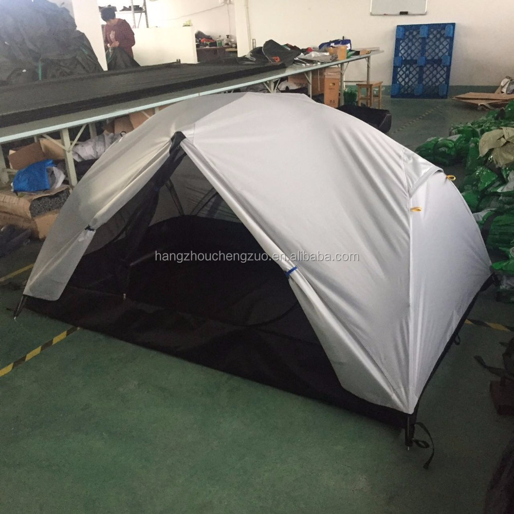High-end Ultralight Aviation Aluminum Pole Double Layers 2-3 Person Waterproof Backpacking <strong>Tent</strong>, TXZ-015B Ripstop Camping <strong>Tent</strong>