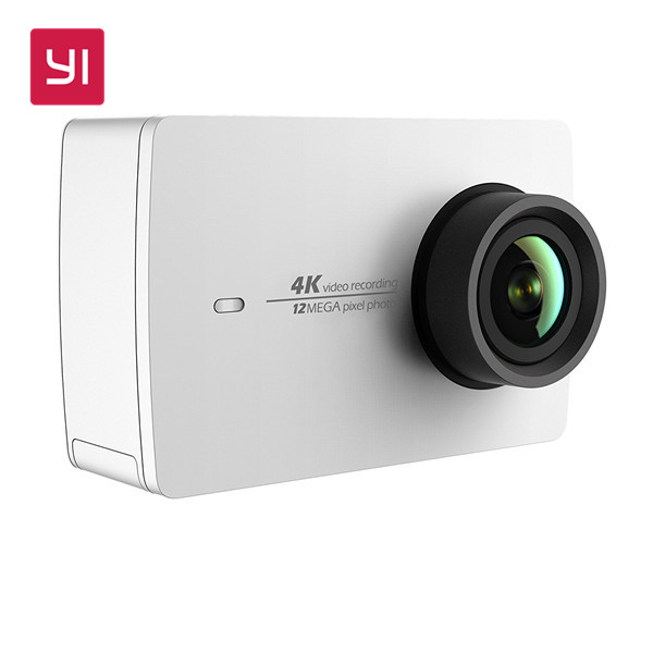 "YI 4K Action Camera 2.19""LCD Screen 155 Degree EIS Wifi Black International Edition Ambarella A9SE75 12MP CMOS Official Store"