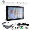 2000w Double Chips LED Grow Light Full Spectrum Grow Lamp for Greenhouse and Hydroponic Indoor Plants Veg and Flower (10w Leds)