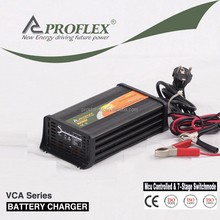 12V DC 7A automatic marine battery charger for car battery