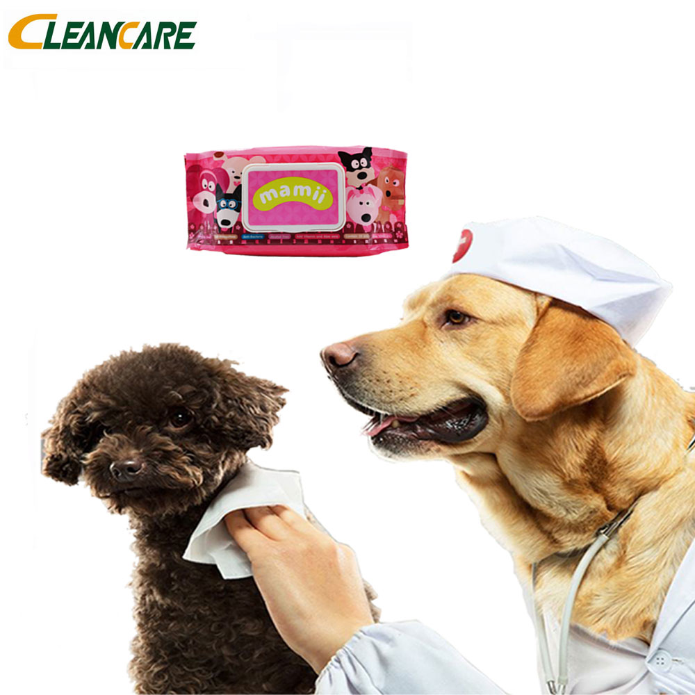 Antiseptic Sterilizing Disinfection Pet Cleaning Wet Wipes with nice price
