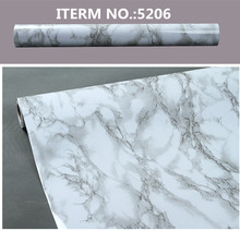 Marble Design waterproof PVC Wallpaper Vinyl Self adhesive Film for decoration