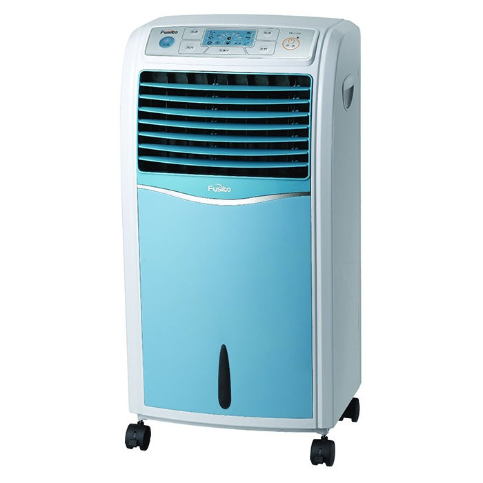 Indoor/Outdoor Portable Evaporative Air Cooler Fan with Air Purifier and Humidifier /7L Water Tank