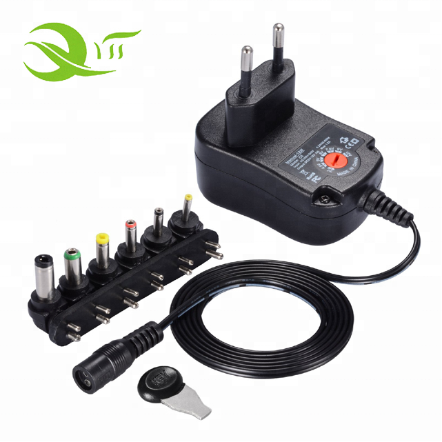 EU US UK AU Plug Universal Adjustable AC/DC Power Adapter 3-12V Power Supply Charger