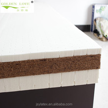 natural latex coir and coconut mattress, comfortable thin round bed latex sheet,latex mattress,roll