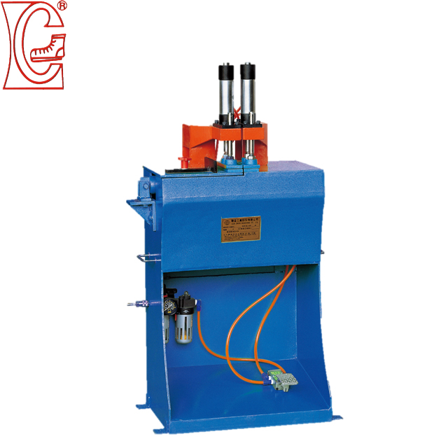 shoe sole machine with stitching/splicing/assembling have two color