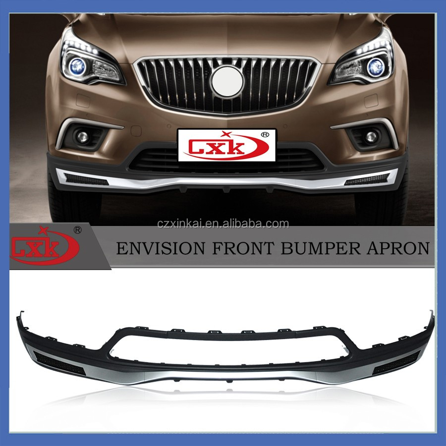 New product auto auto parts Front Bumper Guard and Rear Skid Plate for BUICK ENVISION from china factory