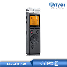 8GB Professional Audio Recorder Business Portable Digital Voice Recorder Support Telephone Recording,Tf Card to 64GB