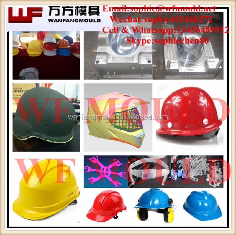 Helmet Mould/Plastic injection safety helmet mould/Plastic helmet injection mold