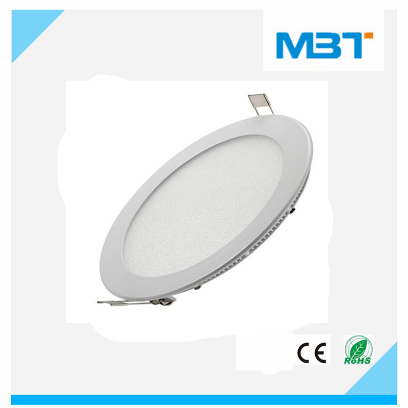 SMD type led ceiling panel light High efficiency Hole cut size 200mm with CE approval