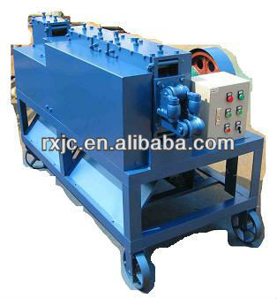 Supply factory price steel straightening and derusting machine