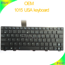 Computer repairing replacement keyboard For Asus EEEE PC 1015 laptop in USA version