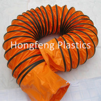 PVC flexible ventilation hose for heating or cooling with CE certificate
