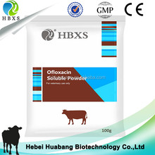 Treating Fever,Blue Ear Disease,Canine Distemper Ofloxacin Soluble Powder