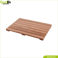 Wholesale bathroom floor anti water teak wood mat from China supplier