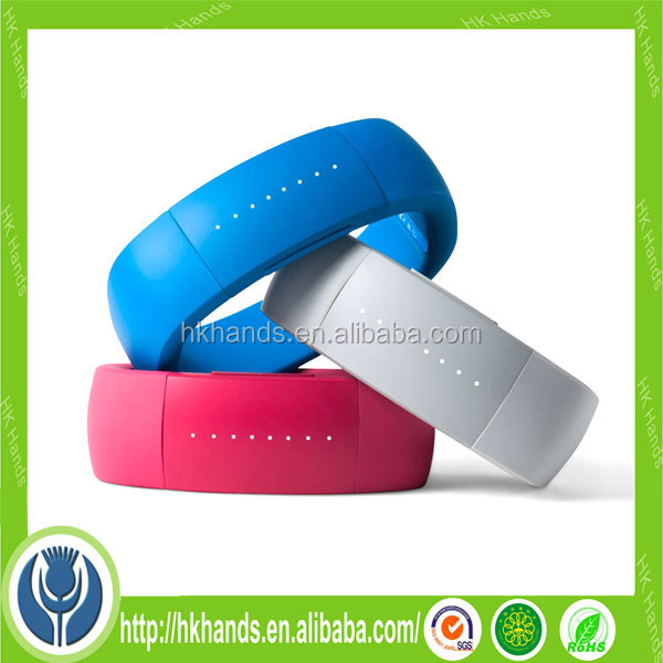 New Design Personalized Silicone Bracelet With Metal Clasp