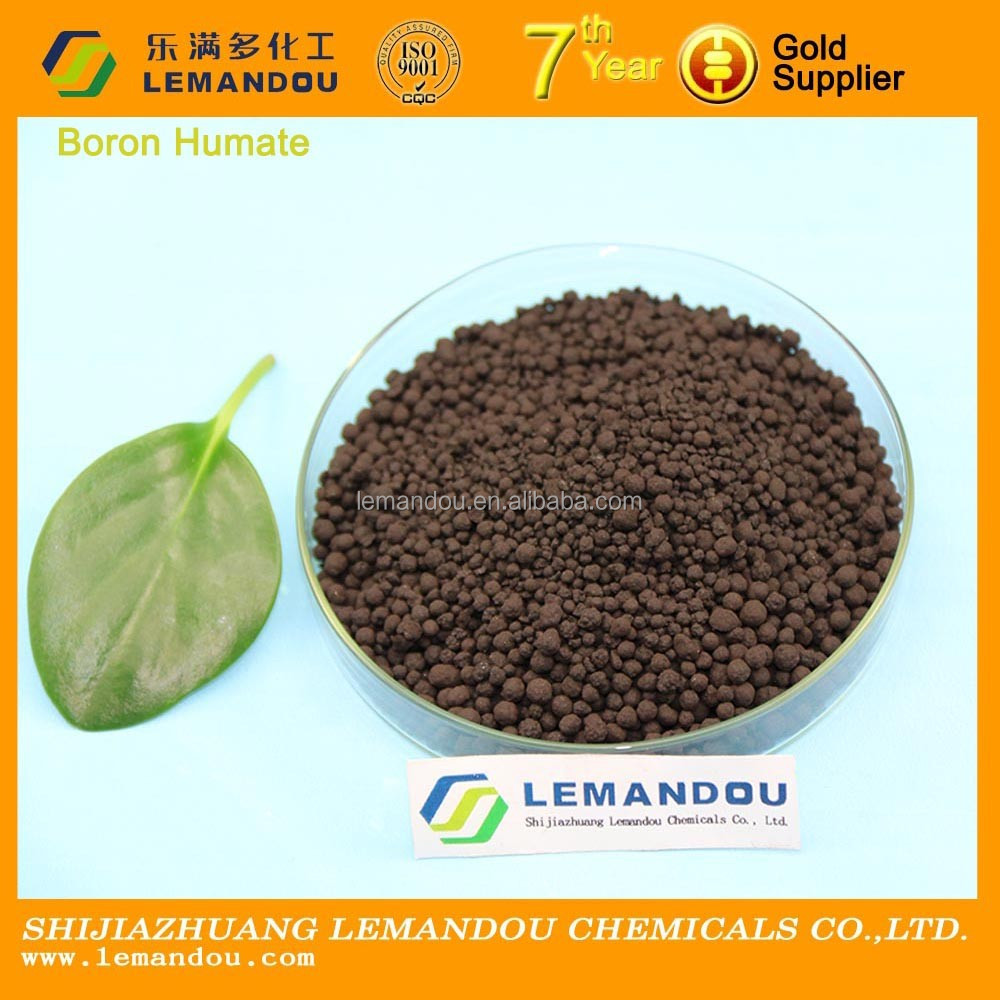 New arrival boron humate granular fertilizer in China