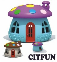 children plastic play Mushroom house CIT-C3582