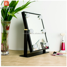 2017 Hot selling Hollywood Makeup Mirror Beauty vanity LED mirror with light