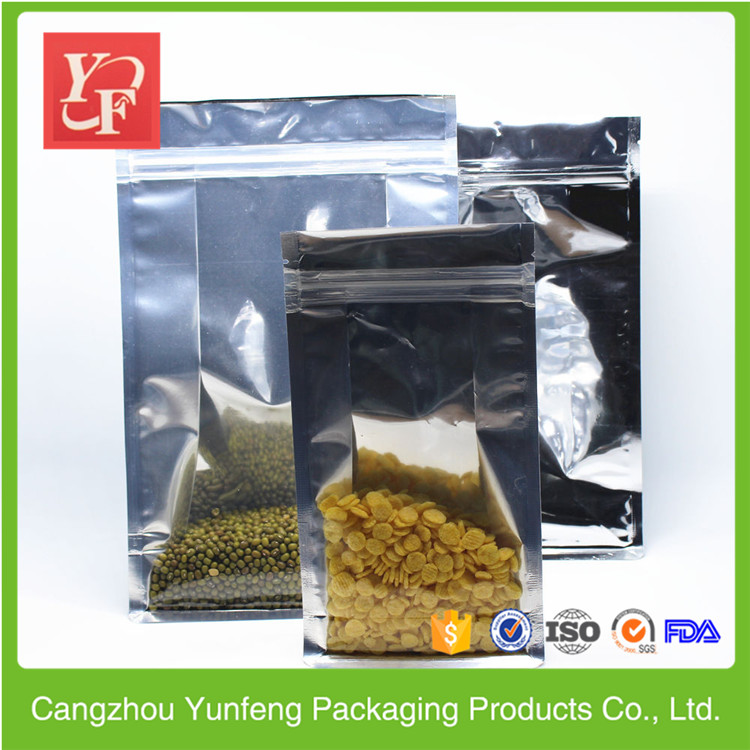 Factory Fastener printing laminated snacks packaging bags