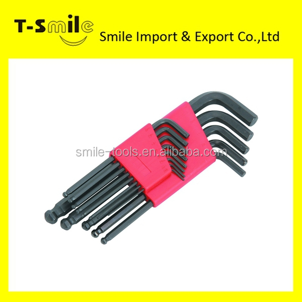 Hex key Allen key Hex wrench ball end allen key