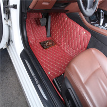 Non-slip Plastic PVC Rubber Latex Silicone Car Floor/Foot Mats