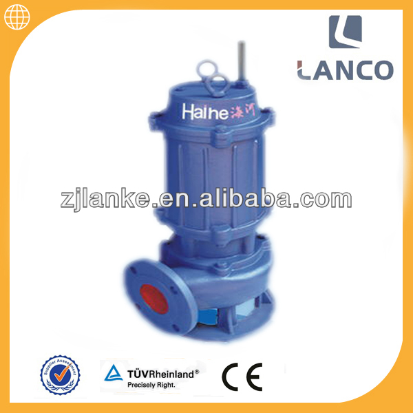 Lanco brand 4 inch non-clogging vertical agricultural irrigation stream submersible pump
