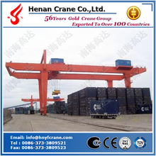 Rail mounted container gantry crane, RMG container crane , container spreader