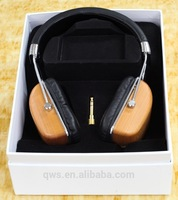 MPS Creative Design Bluetooth Wood Headphones Noise Cancelling with Microphone