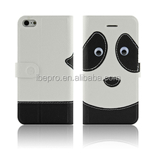 New Arrival Cartoon Character Flip PU Leather Phone Case for iPhone 5