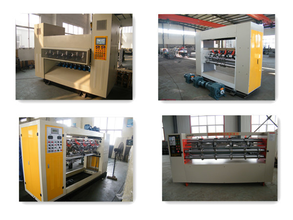 Automatic thin blade cardboard corrugated slitter scorer machine
