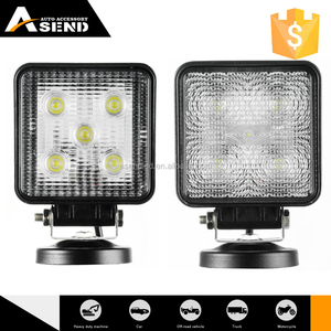 new design 15w led work light squre downlight spot beam, flood beam 3w led panel lighting