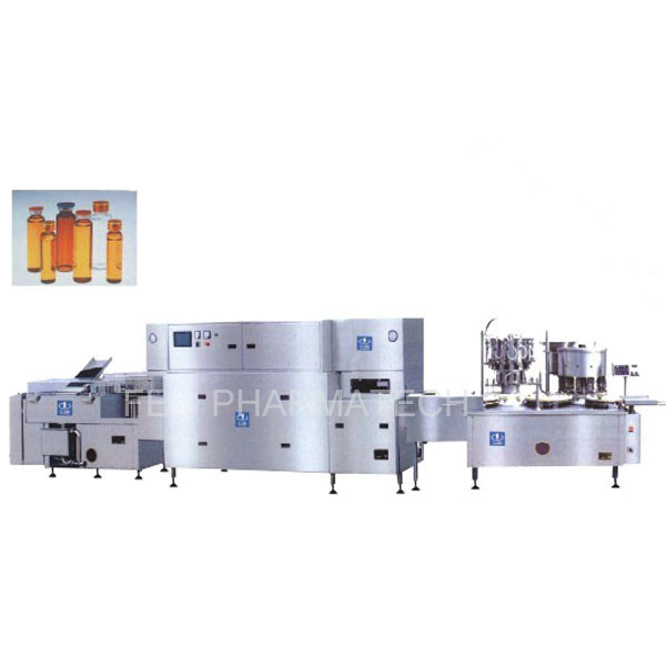 USA love fully automatic vial filling crimping machine,syrup filling and capping machine