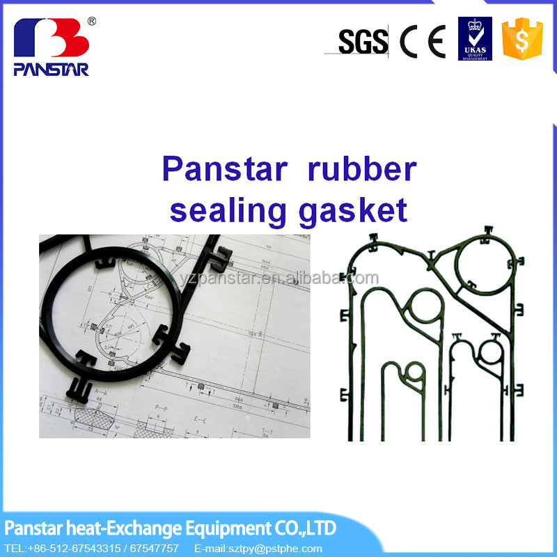 mesh fast supplier types of gasket material for plate heat exchanger