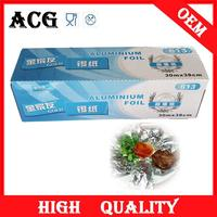 food packing use decorative aluminum foil for microwave oven